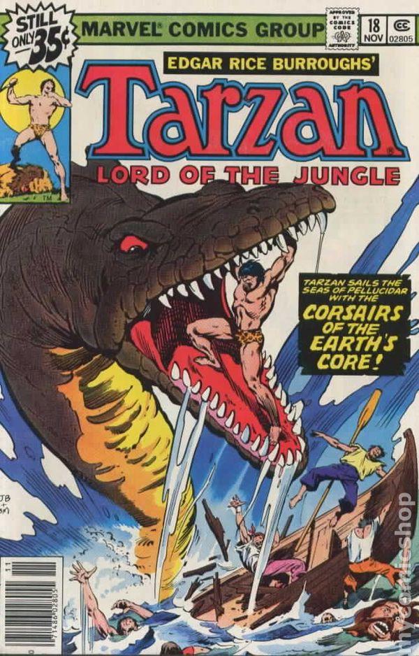 tarzan  1977 marvel  comic books