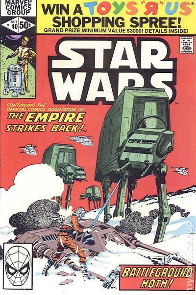 comic books in star wars empire strikes back