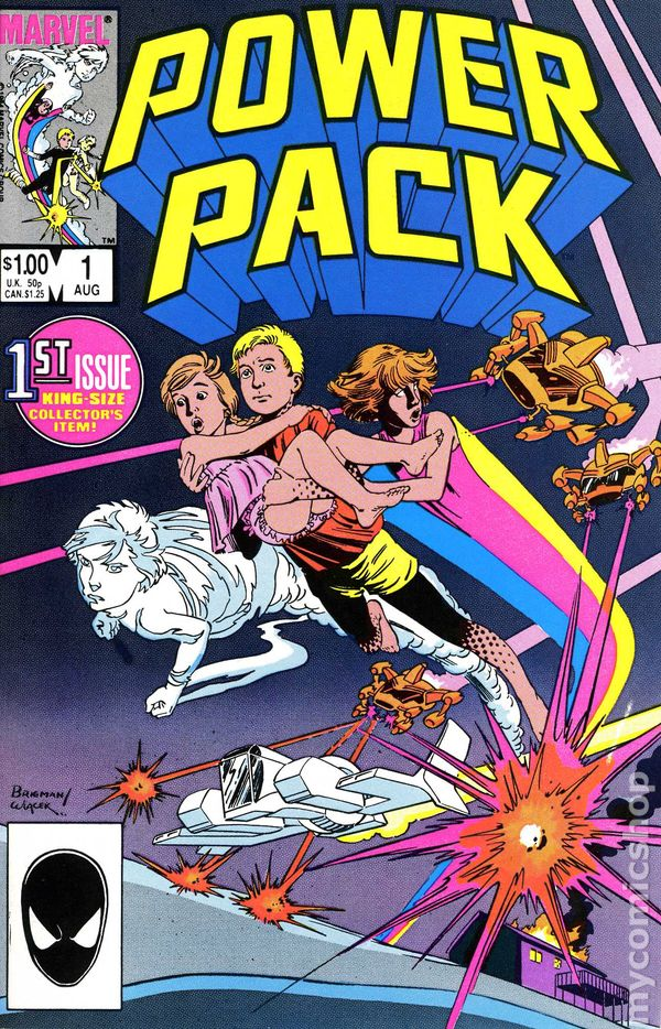 Image result for power pack comic 1980's