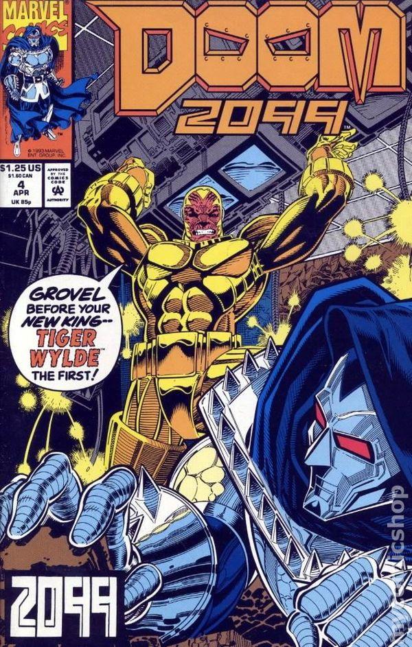 Comic Books In Marvel Alternate MC2 2099