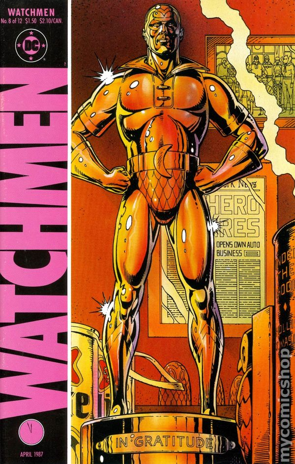 watchmen 1986 comic books watchmen 1986 8