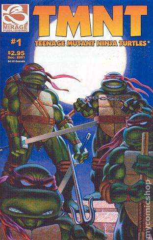 Teenage mutant ninja turtles the movie comic book
