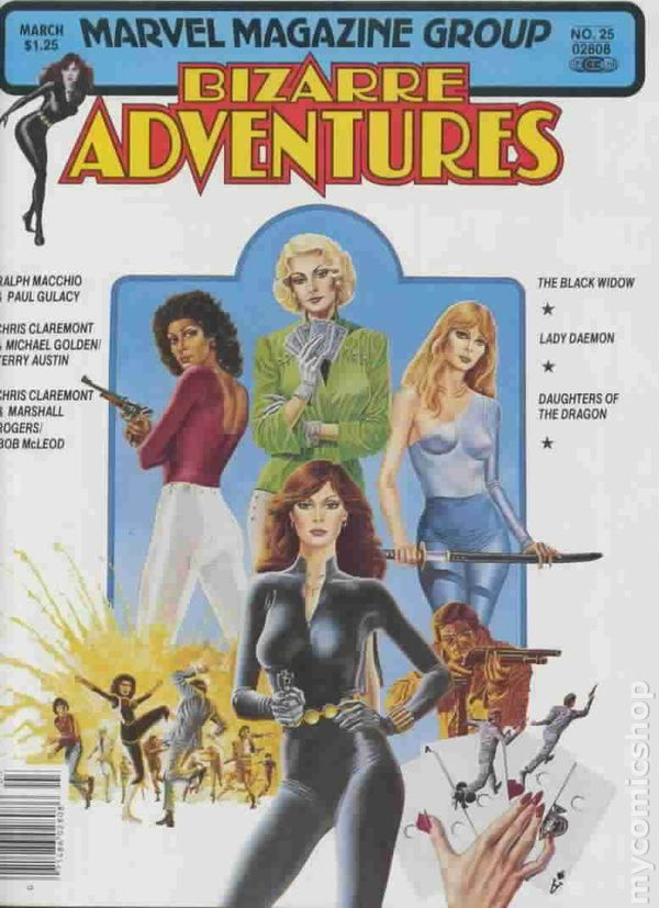 Bizarre Adventures 1981 Magazine Comic Books