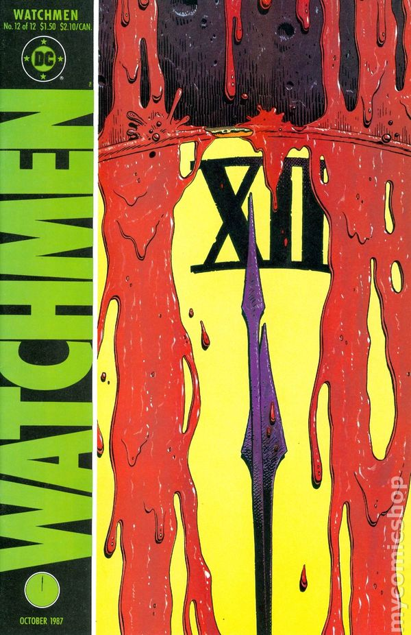 Watchmen (1986) comic books