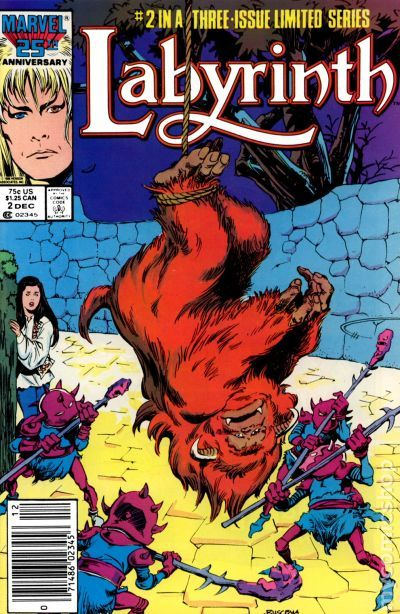 Labyrinth (1986) comic books Labyrinth 1986 Sarah