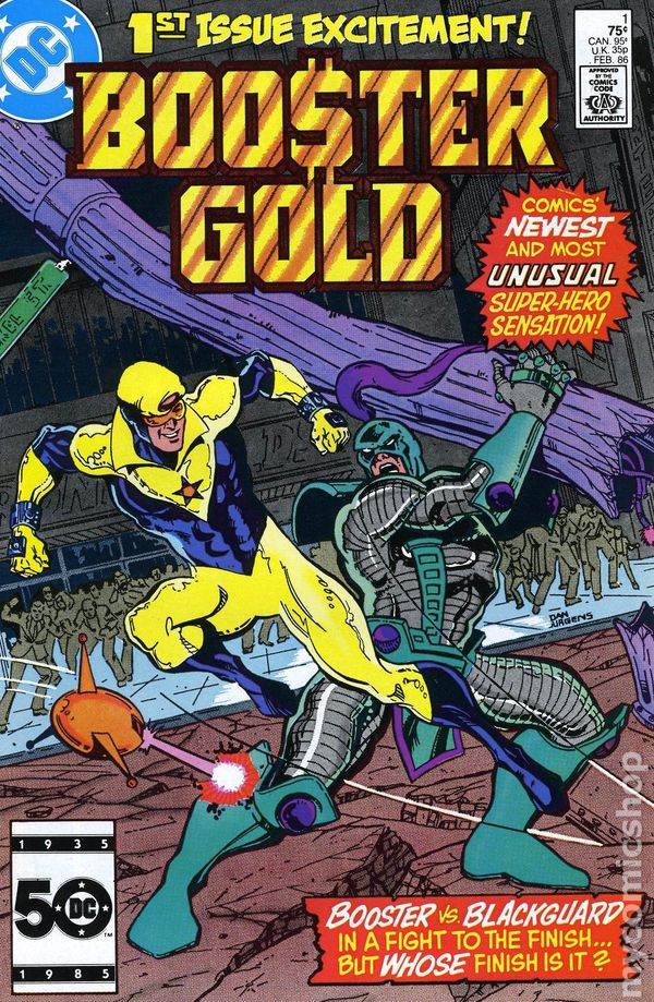 Booster Gold 1986 Dc 1st Series Comic Books
