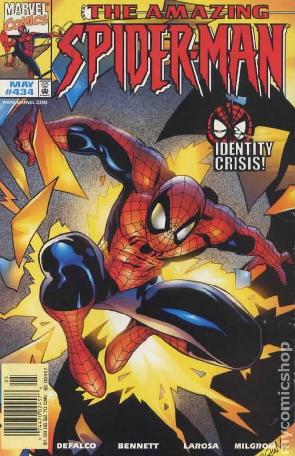 Comic Books In Spider Man Identity Crisis