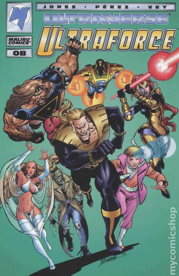 Ultraforce (1994) Ashcan Edition comic books