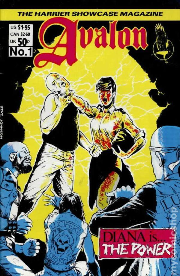 Avalon Comic Books Issue 1