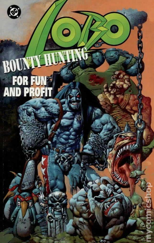 Lobo comic books issue 1
