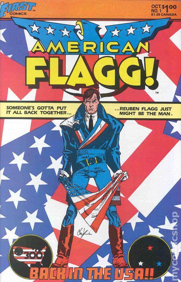 American Flagg #1