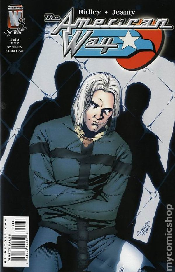 Comic books in 'Straight Jacket'
