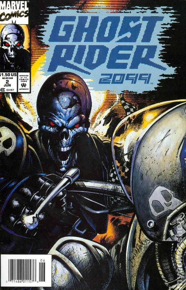 ghost rider 2099  1994  comic books