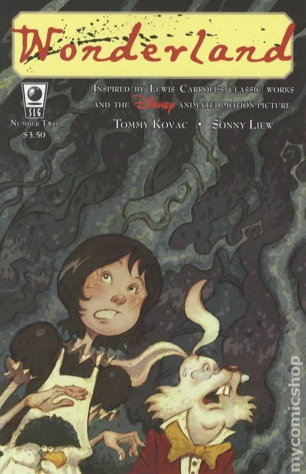 Wonderland 2006 Slave Labor Comic Books