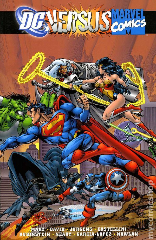 Marvel Vs. DC TPB (1996 Marvel/DC) Comic Books