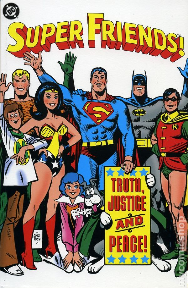Image result for Super Friends Comic book