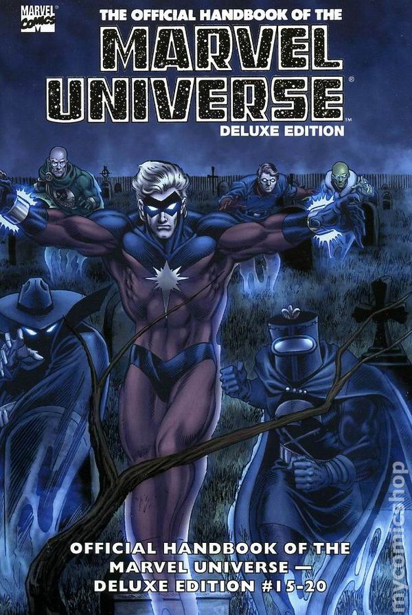 Essential Official Handbook of the Marvel Universe TPB