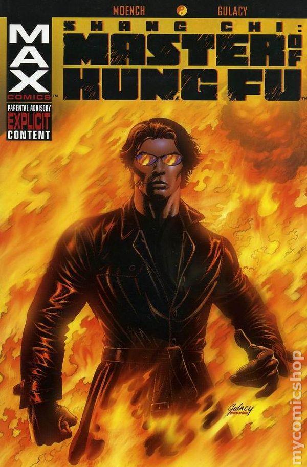 Master of Kung Fu Marvel Max