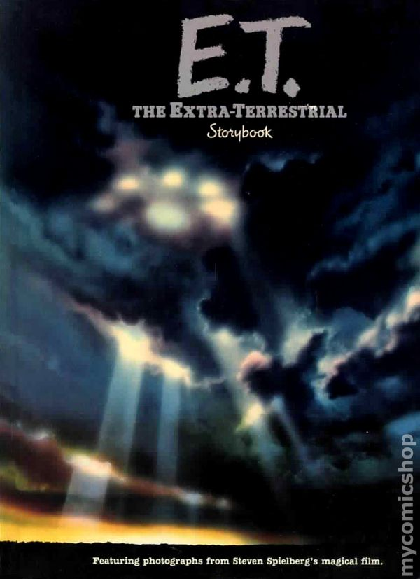 E T The Extra Terrestrial Storybook Hc 1982 Comic Books