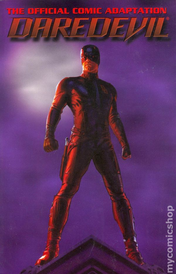 Daredevil The Movie Tpb 2003 Marvel The Official Comic Adaptation Comic Books