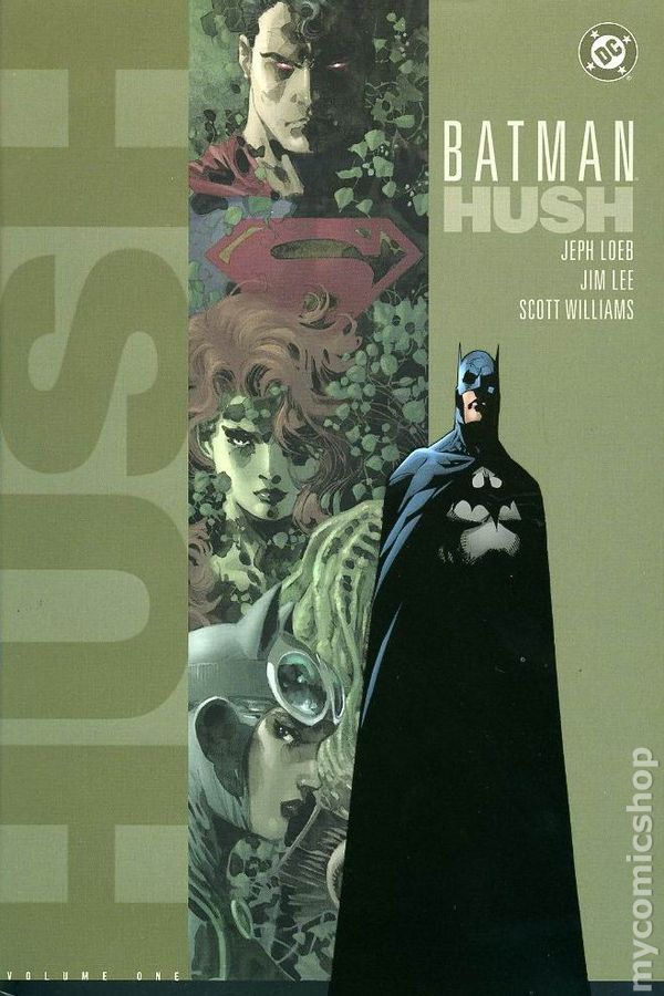 Batman Hush Hc 2003 Dc Comic Books