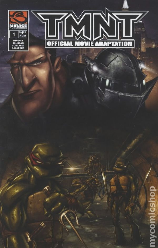 TMNT Movie Adaptation (2007 Mirage) comic books
