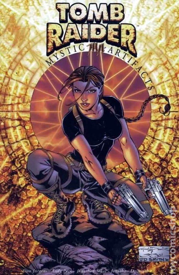 Comic Books In Tomb Raider Tpb 2000 Top Cow