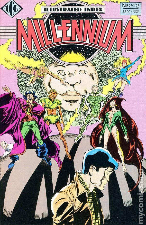 comic books in  u0026 39 millennium crossover  dc  u0026 39