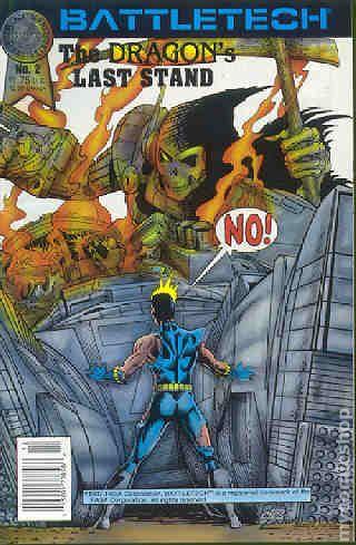 Battletech 1987 Comic Books