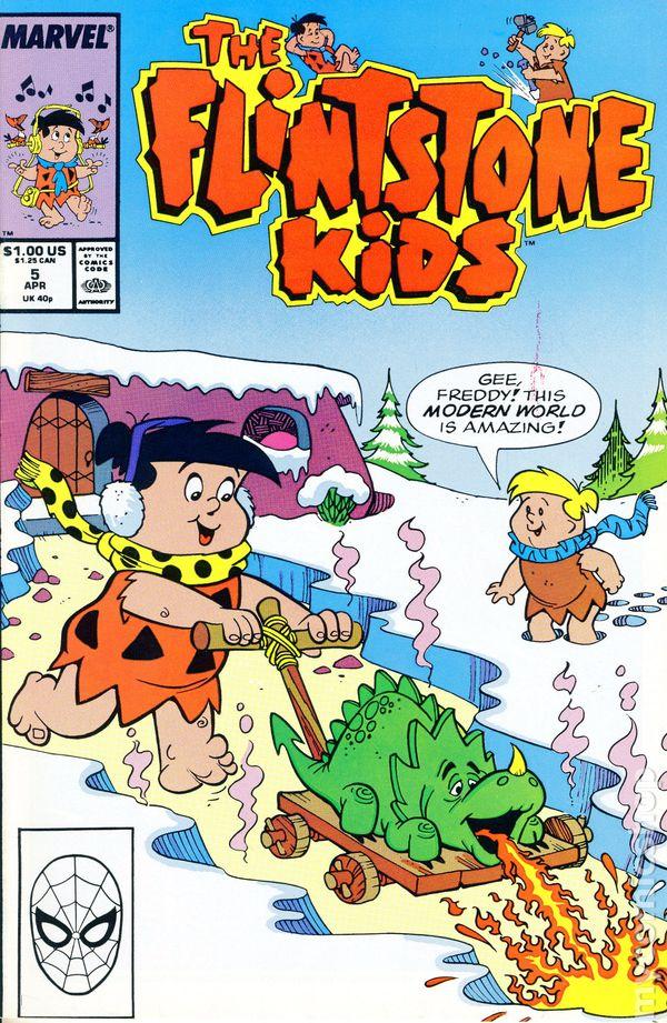 Flintstone Kids 1987 Marvel Star Comics Comic Books