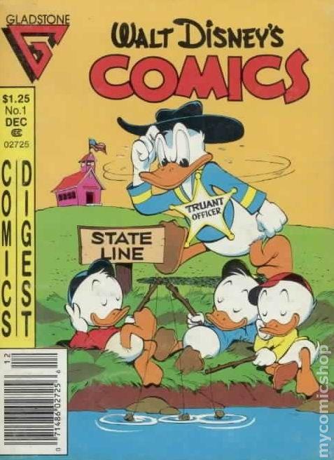 Walt Disney/'s Comics and Stories #512 VF 1986 Stock Image