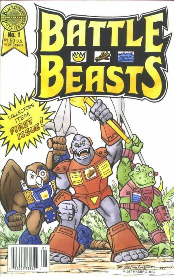 Battle Beasts (1988) comic books