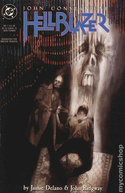 Hellblazer #3 John Constantine DC Comics 1988 Series 9.2 Near Mint