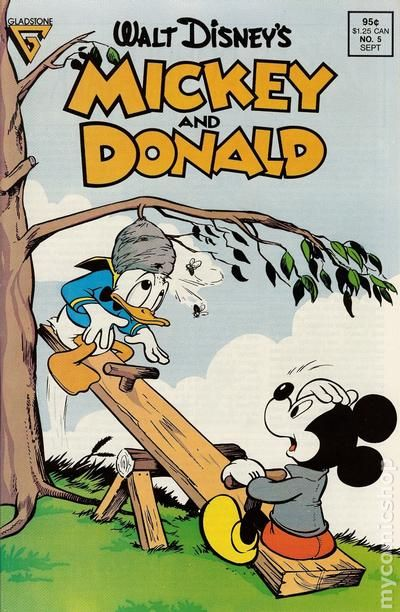 Barks Walt Disney/'s Mickey /& Donald # 4 USA,1988