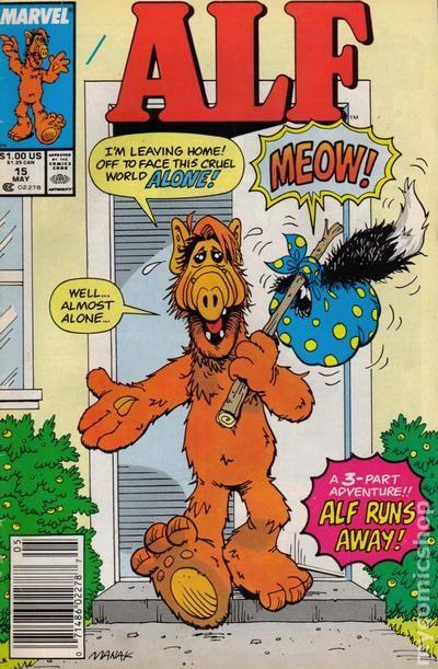 Alf 1988 series # 30 very fine comic book