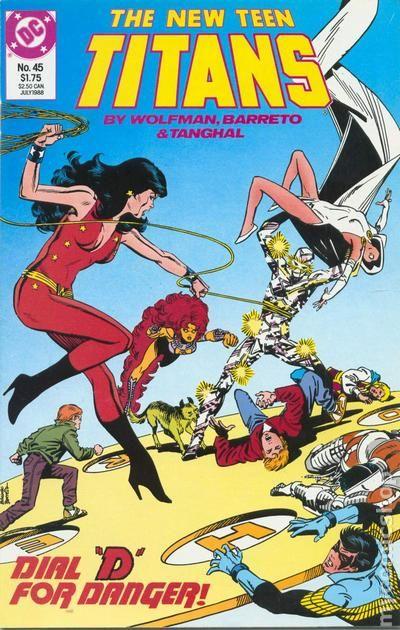 New Teen Titans 1984 2Nd Series New Titans Comic Books-2482