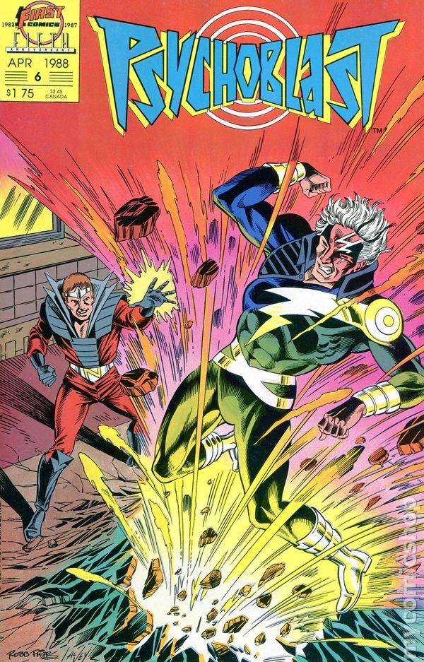 Psychoblast #5 March 1988 First Comics