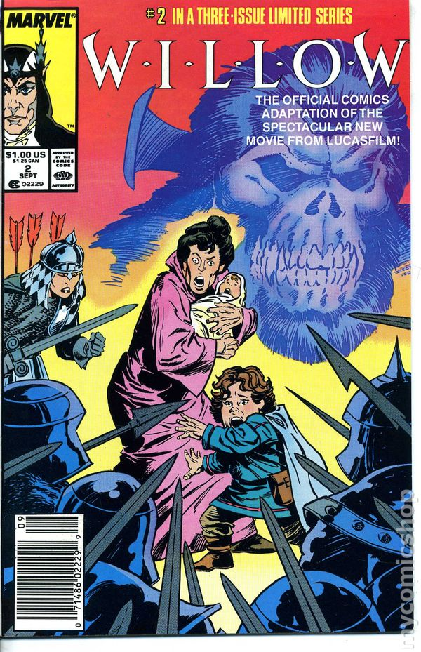 willow 1988 marvel comic books