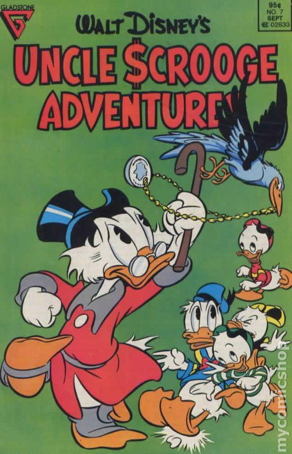 Walt Disney/'s Uncle Scrooge Adventures 1987 Gladstone #38 VF//NM