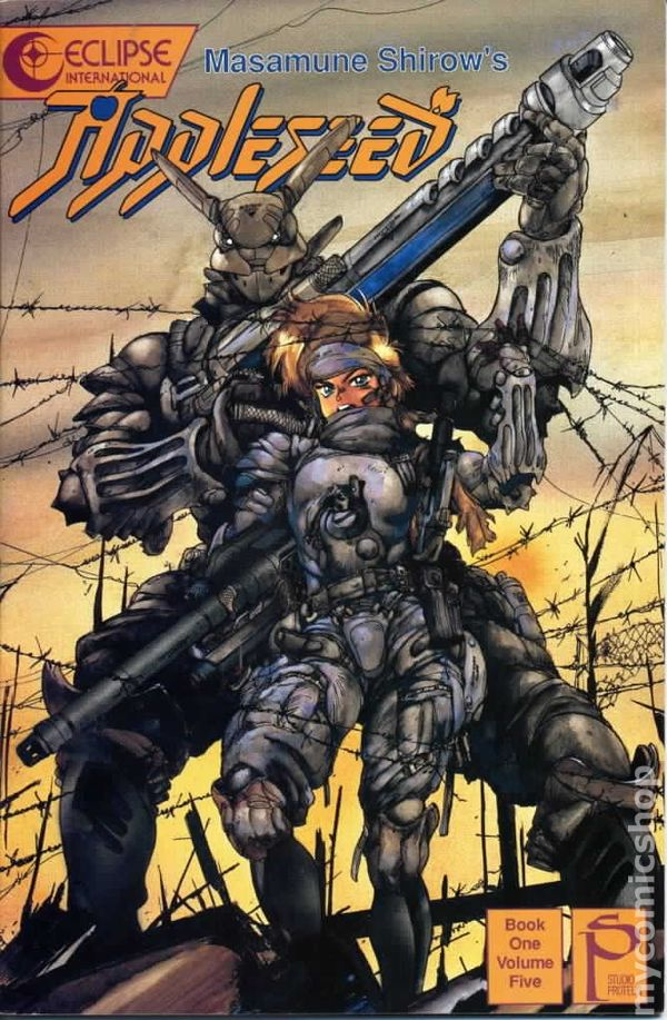 Appleseed Book 1 1988 Comic Books