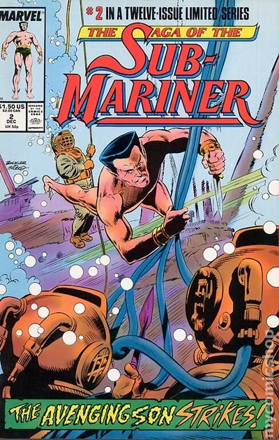 Details about  /THE SAGA OF THE SUB-MARINER #1-12 COMPLETE SET ~ VF-NM 1988 MARVEL COMICS
