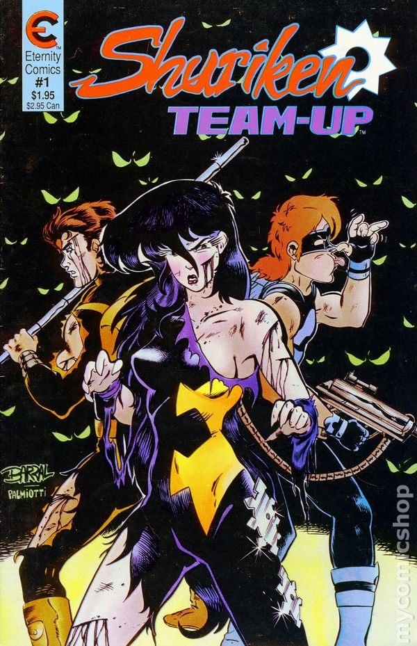 Shuriken Team-Up #1
