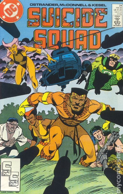 Suicide Squad #22 FN 1989 Stock Image