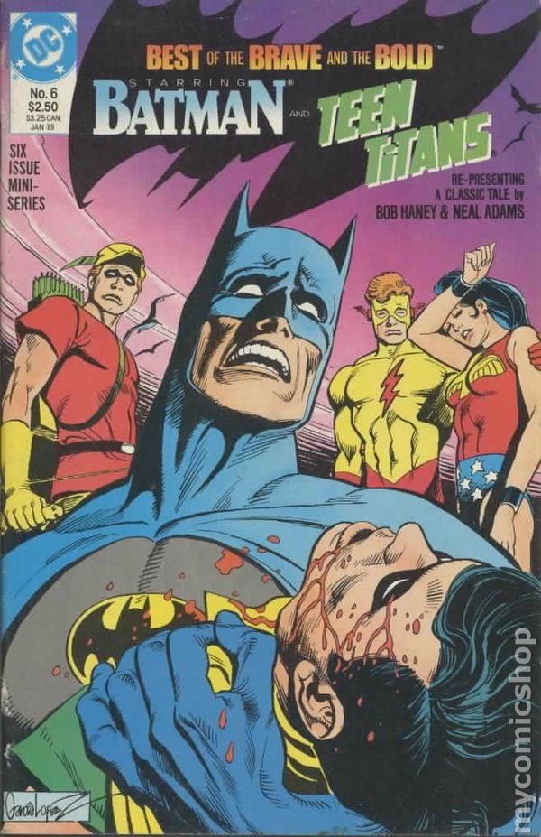 Best Of The Best 2017 By Colorado Community Media: Best Of The Brave And The Bold (1988) Comic Books