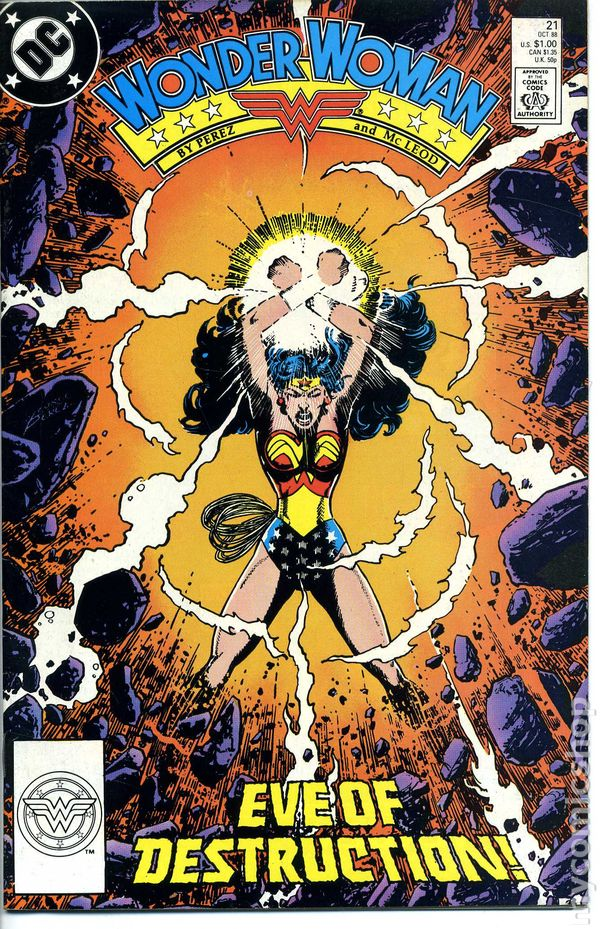 Wonder Woman 1987 2Nd Series Comic Books 1980-1989-3849