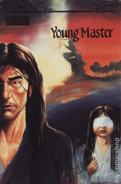 Young Master Comic Book #9 New Comics Group 1989 VERY FINE