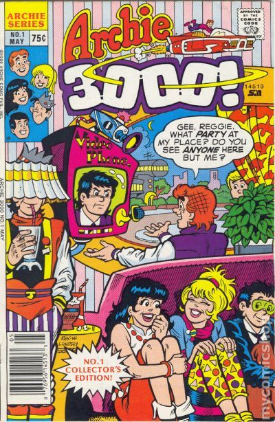Archie 3000 1989 Comic Books