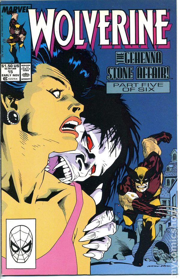 Resultado de imagem para WOLVERINE 1988 # 14
