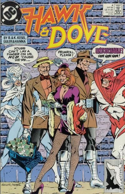 Hawk and Dove 1989 series # 28 near mint comic book