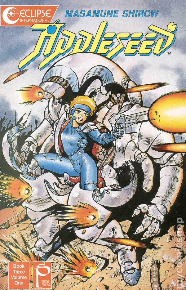 Appleseed Book 3 1989 Comic Books